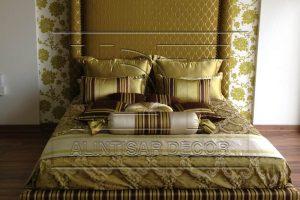 Golden Bed ALINTINSAR Decor