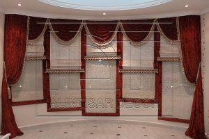 Roman curtains GCC , Saudi, Qatar , Oman